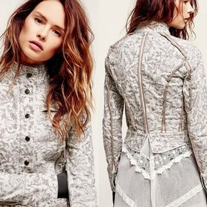 Free People Follow the Flock Motorcycle Jacket